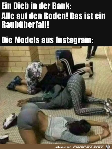 Typisch Insta-Models