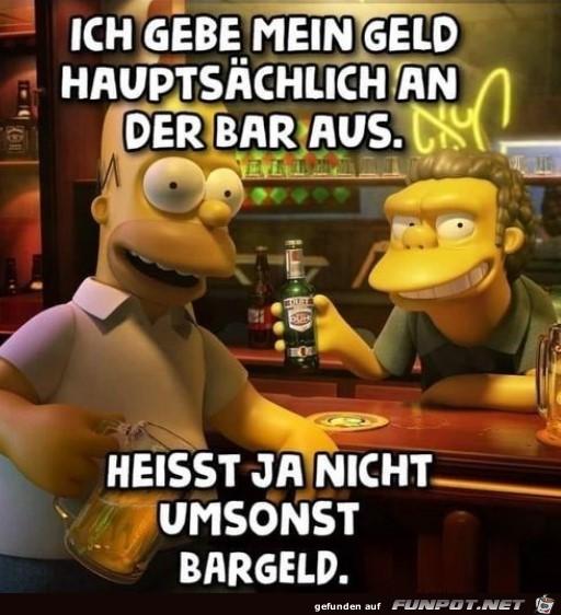 Hauptsaechlich an der Bar