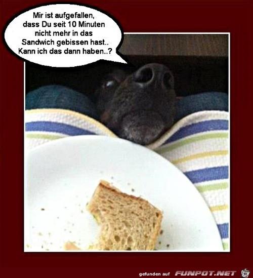 Isst du das noch?