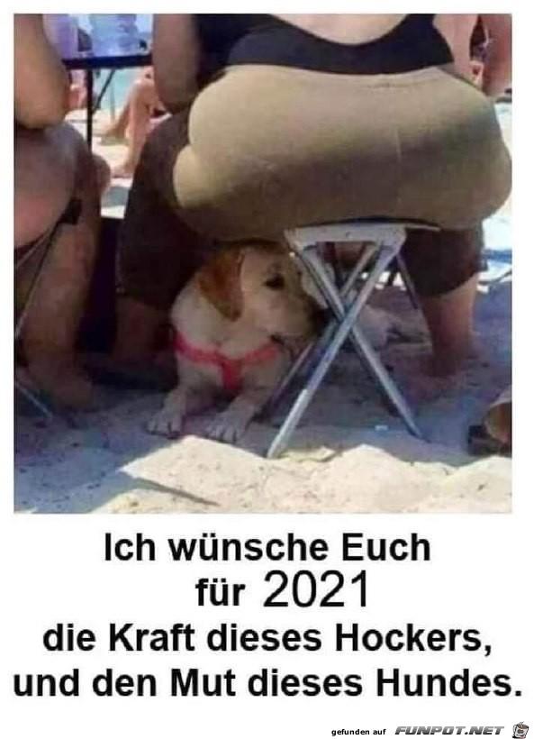 Das wünsche ich euch für 2021