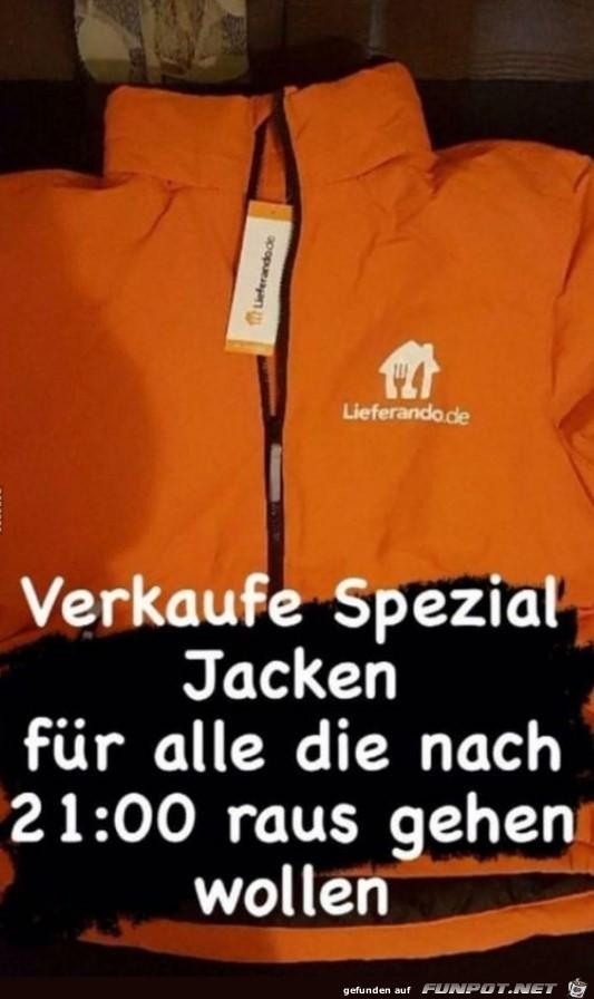 Verkaufe Spezial-Jacke