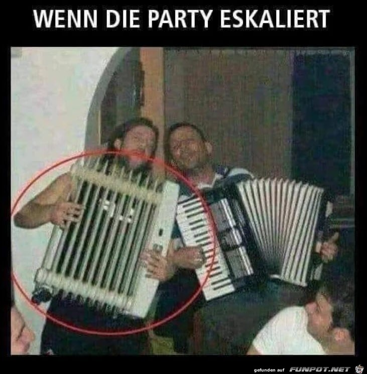 Schräge Party