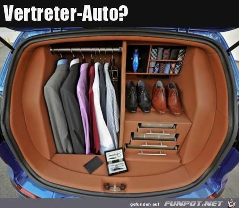 Das Vertreter-Auto