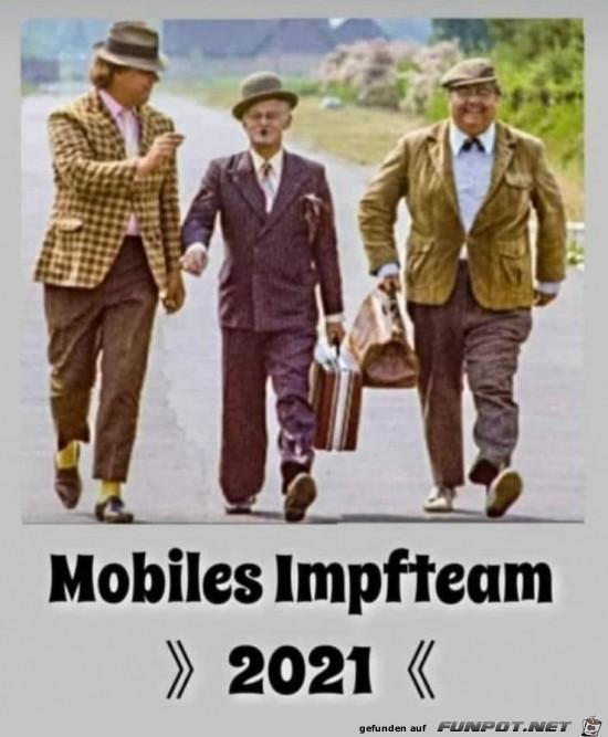 Das mobile Impfteam