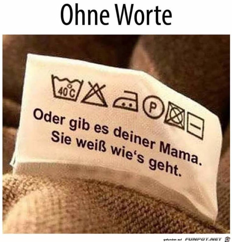 Gib es deiner Mama