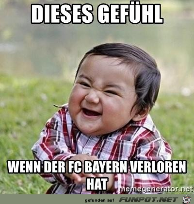 Wenn Bayern verloren hat
