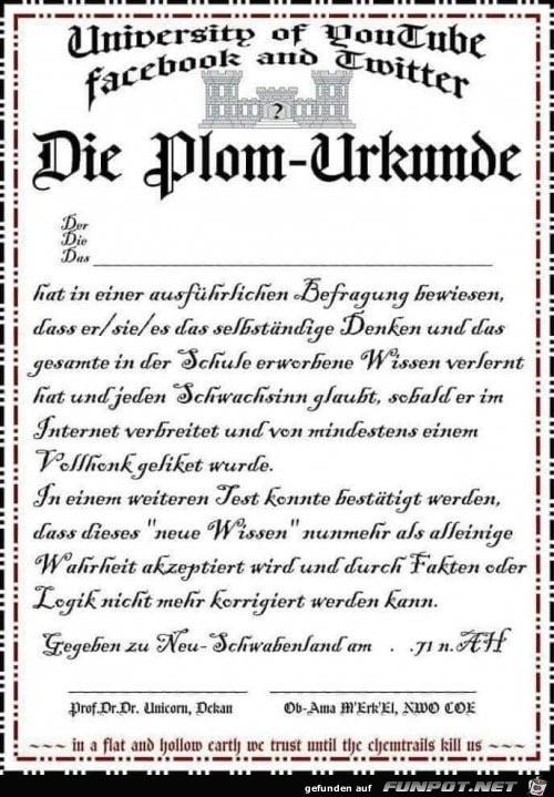Besonderes Diplom