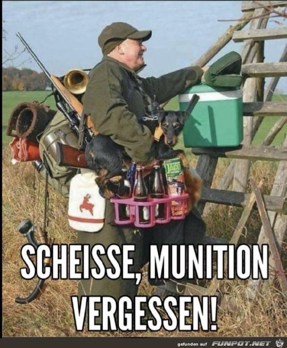 Munition vergessen