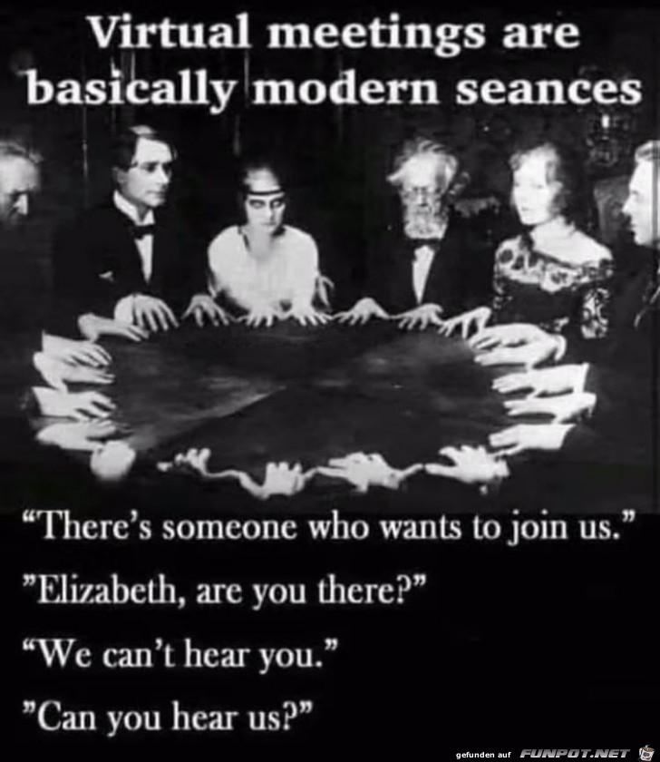 Moderne Seancen