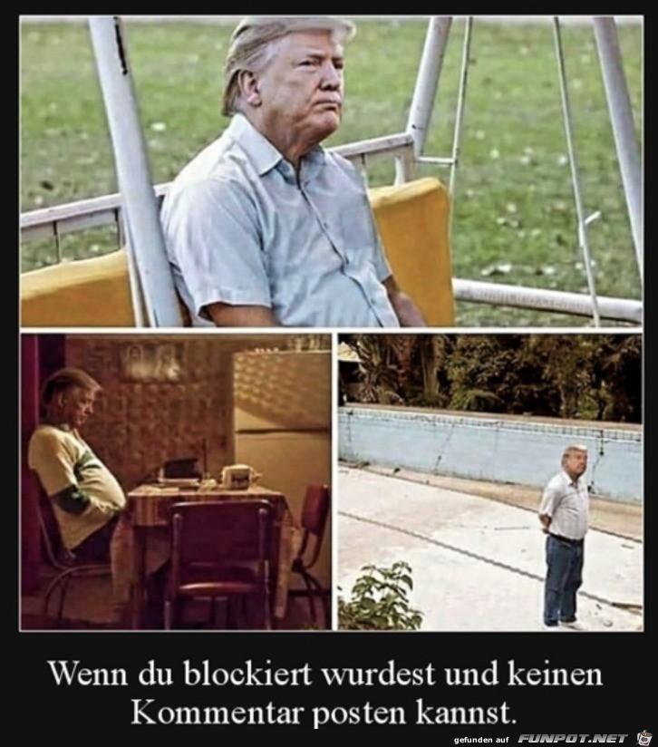 Wenn du blockiert bist