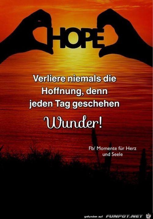 Hoffnung...