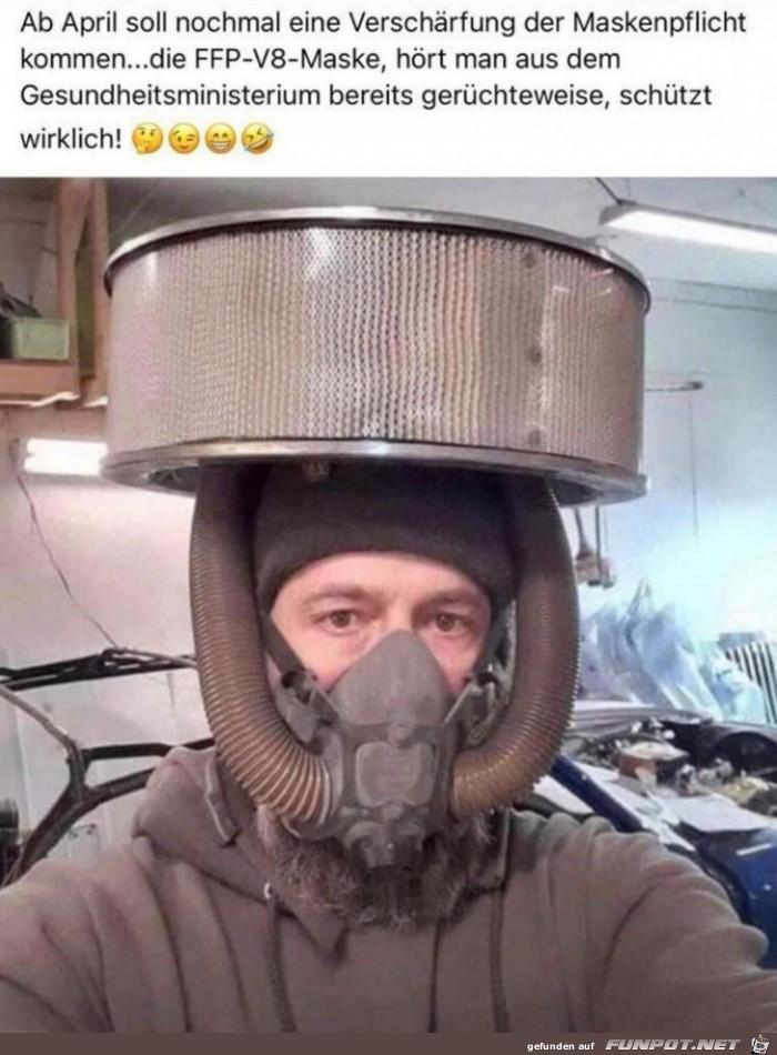 Neue Maske