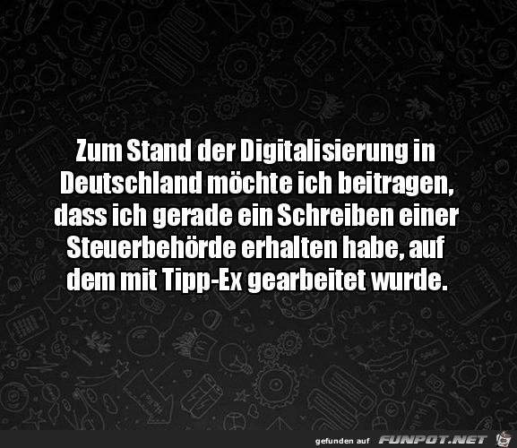 Die Digitalisierung in Deutschland