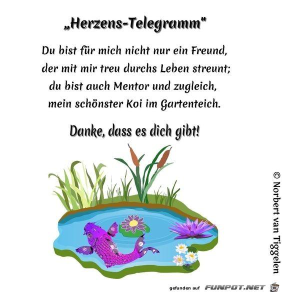 herzens- telegramm 2021