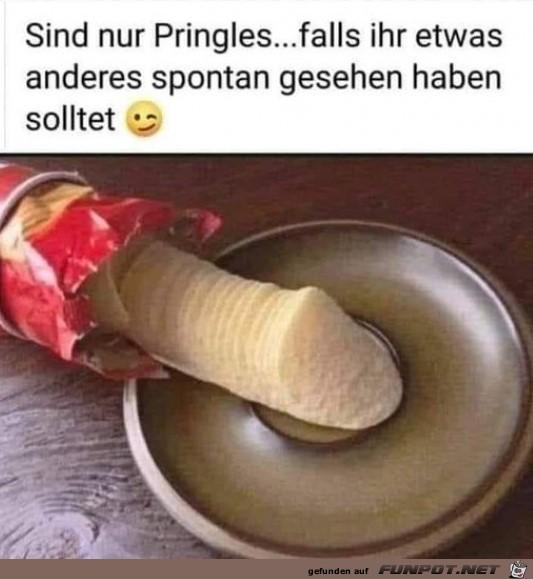 Sind nur Pringles