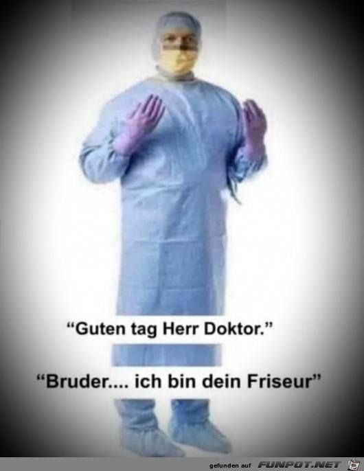 Guten Tag Herr Doktor