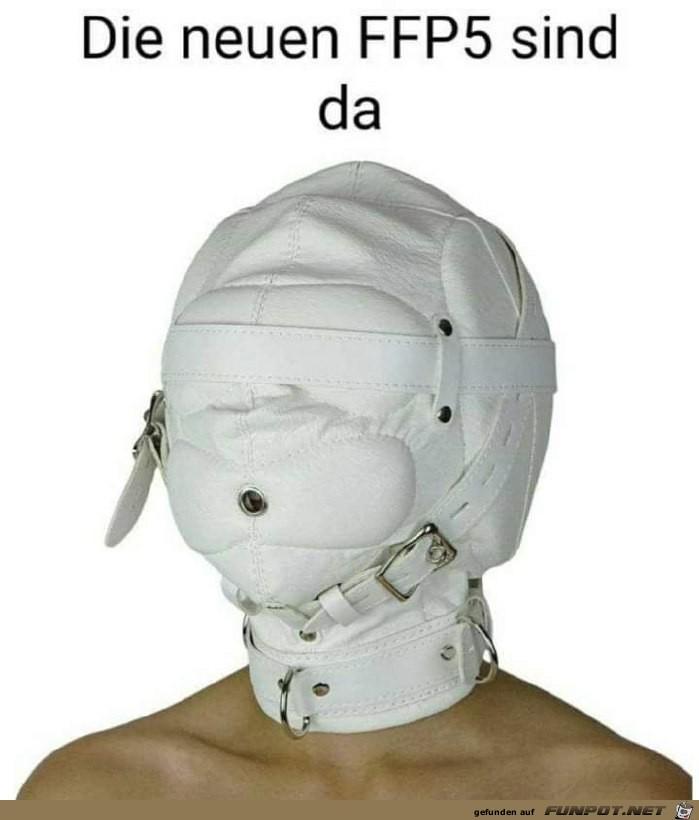 die neuen FFP5-Masken sind da