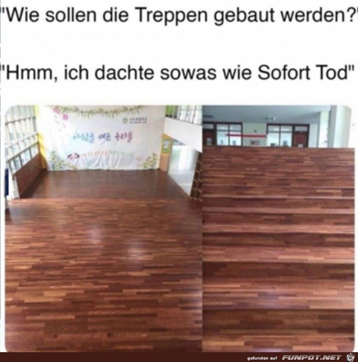 Fiese Treppe