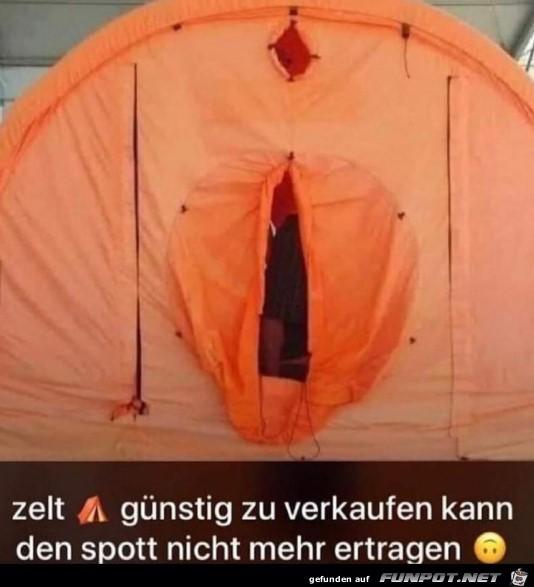 Zelt zu Verkaufen