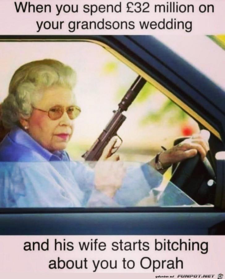 Queen ist geladen