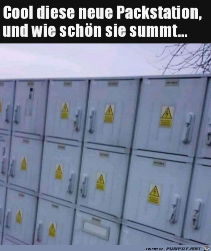 Tolle neue Packstation