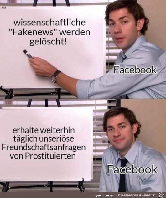 Facebook macht das immer so
