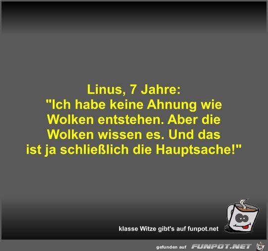 Linus, 7 Jahre