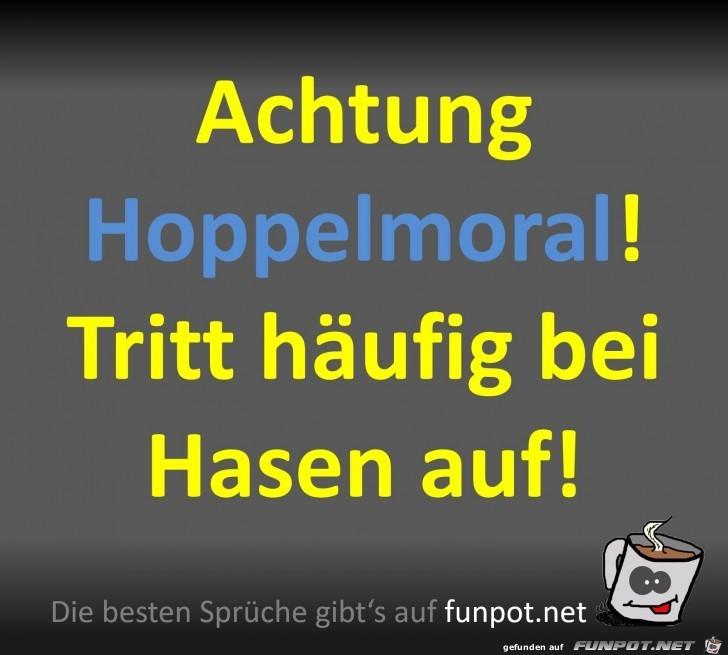Die Hoppelmoral