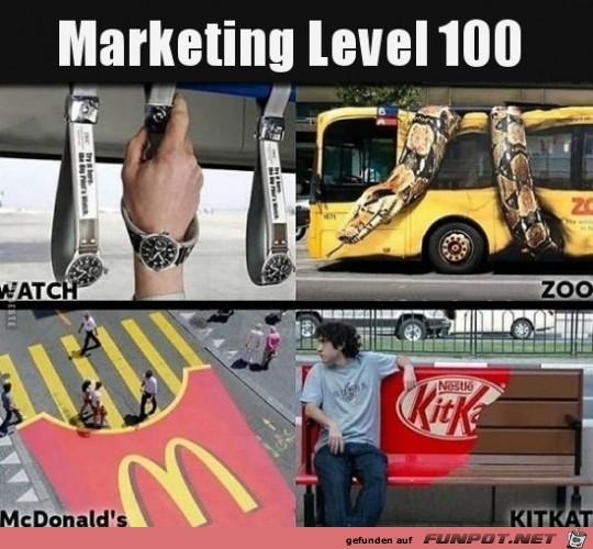 Marketing Level 100