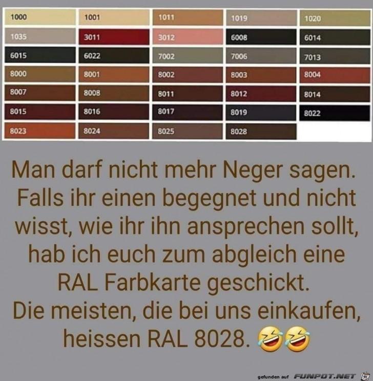 Die RAL-Farben