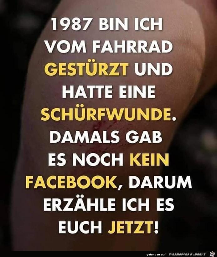 Damals gab es noch kein Facebook