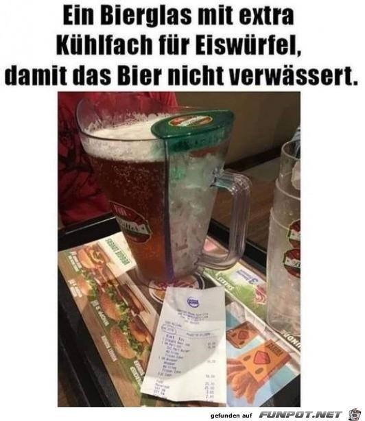 Cooler Bierkrug