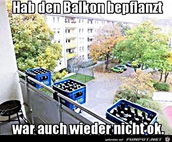 Tolle Balkonkästen