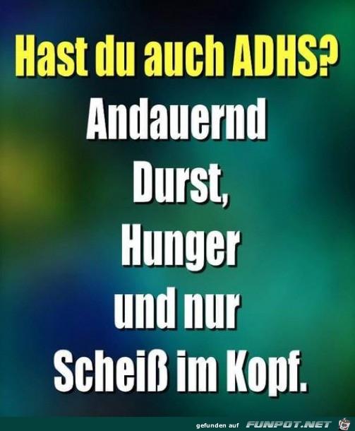 Hast du auch ADHS?
