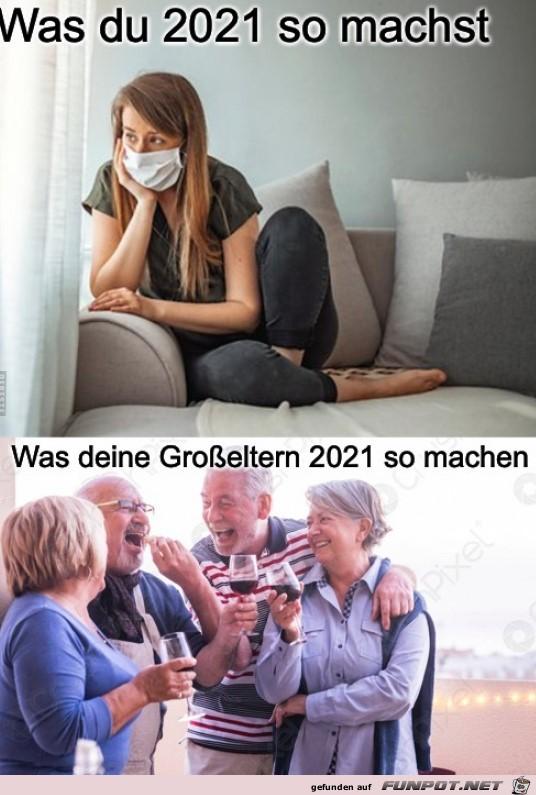 Was du 2021 so machst