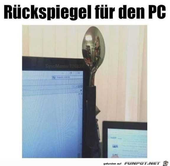 PC-Rückspiegel