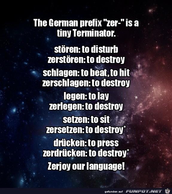 Die deutsche Sprache