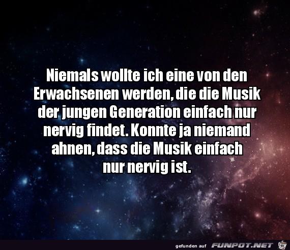 Die Musik der jungen Generation