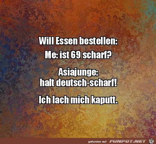 Deutsch-scharf