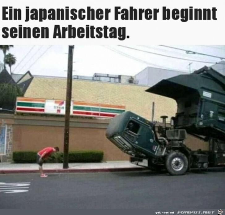 So beginnt man in Japan die Arbeit
