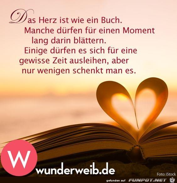 Das Herz ist wie ein Buch