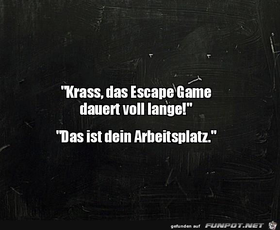 Komisches Escape Game