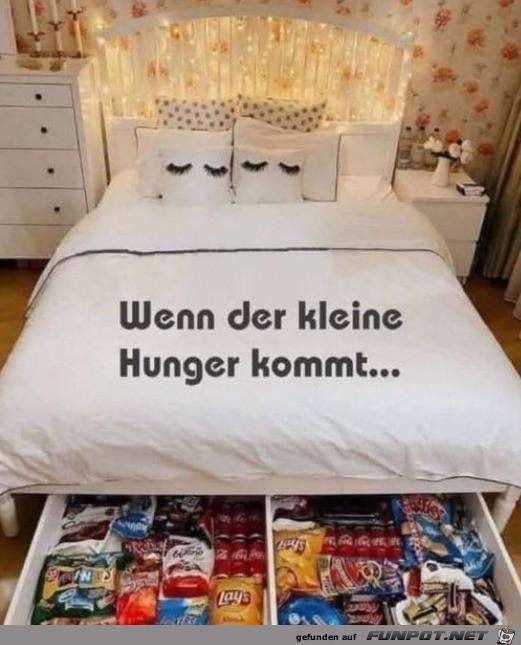 Reserve für den kleinen Hunger