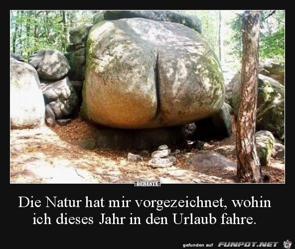 Die Natur hat mir