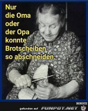 Nur oma oder Opa