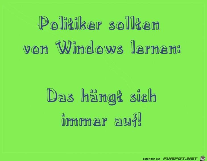 politiker von windows lernen