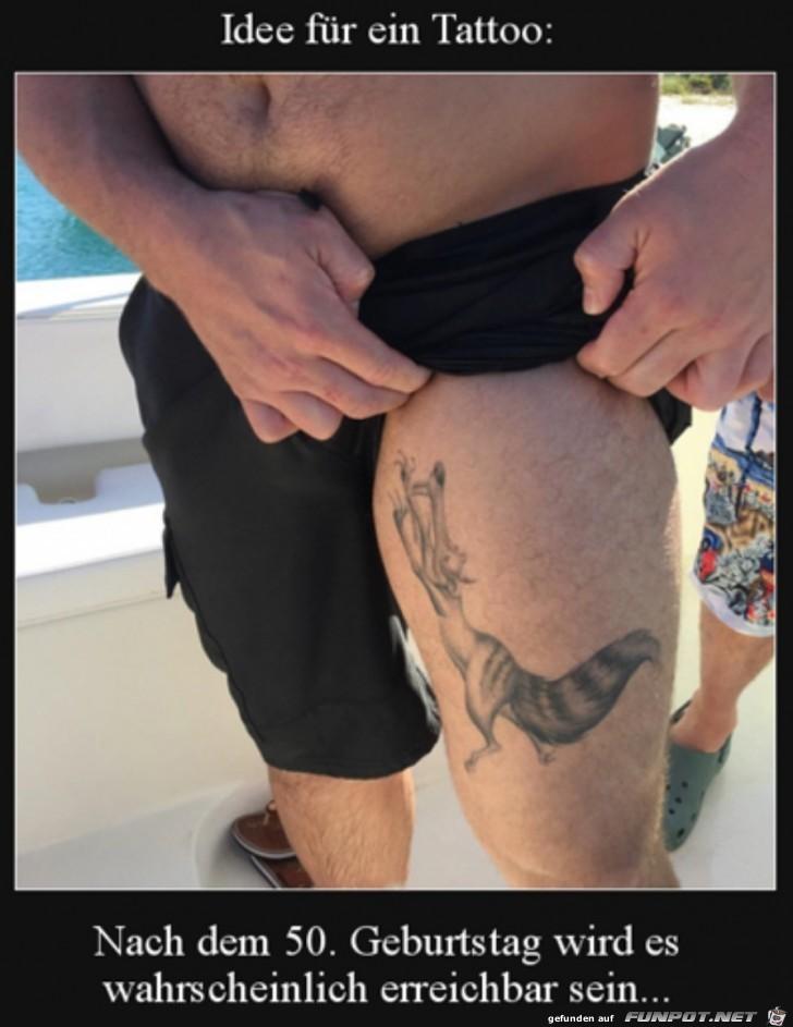 Lustiges Tattoo