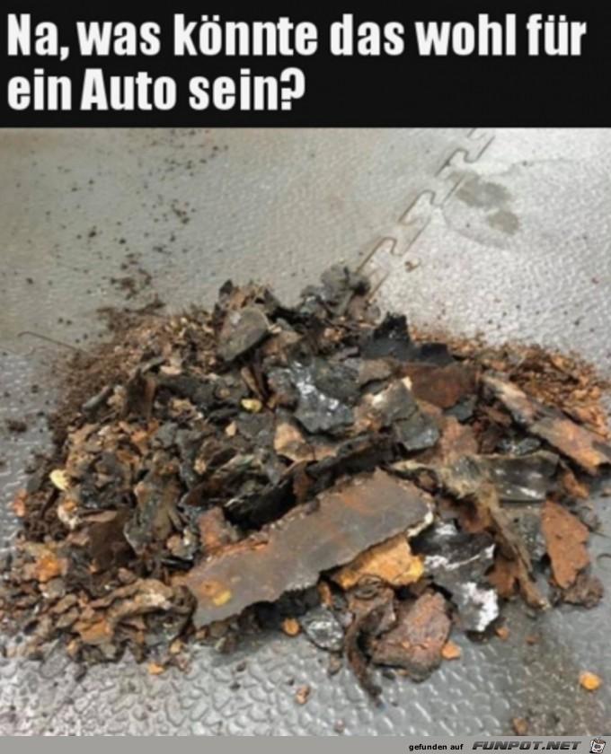 Was war das wohl für ein Auto?