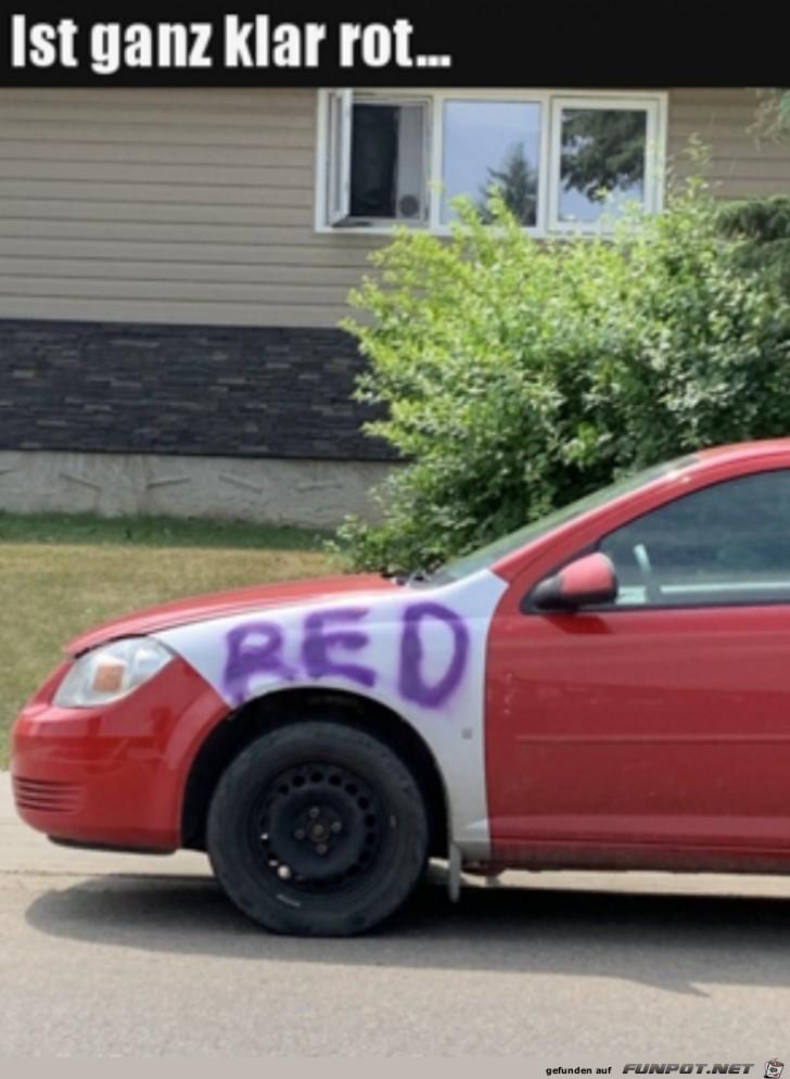 Ziemlich rot