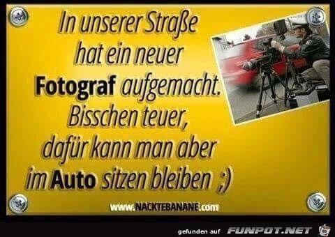 Teurer Fotograf